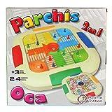 RAMA TRITTON- Juego PARCHIS 4 Y OCA, Multicolor (28157)