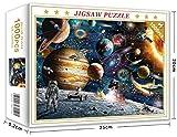 JAWSEU Viajero espaciales Coloridos Juego Rompecabezas de Viajero Espacial Espaciales Rompecabezas De Desafío Cerebral Viajero Espacial ensamblar Rompecabezas Viajero
