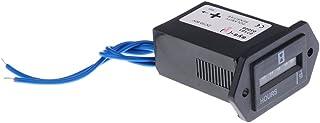 Sharplace DC/AC 10-80V digitale bedrijfsurenteller, uurteller met LCD-display voor auto, vrachtwagen motor