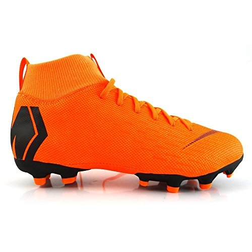 Nike K-f-Schuh Jr. Superfly Academy MG, Zapatillas de Fútbol Unisex Niños, Naranja (Total Orange/White-T 810), 35 EU