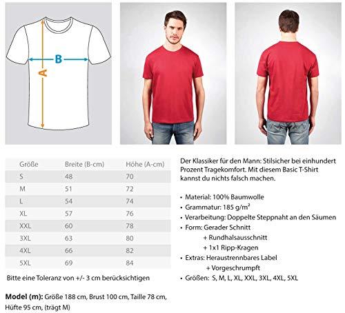 Penspinning Pen Spinning   01497 - Camiseta para hombre, gris, S