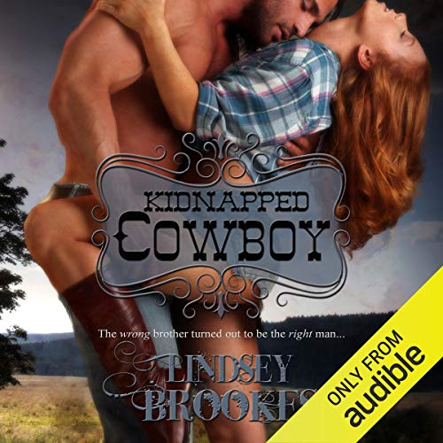 Kidnapped Cowboy audiobook cover art