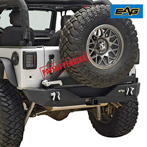 EAG Rear Bumper with Tire Carrier Fit for...