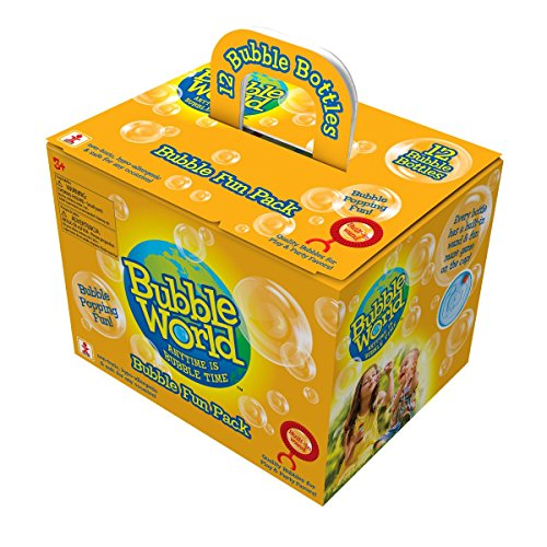 Bubble World Fun Bottles, 12 Pack, 2.03 fl.oz.