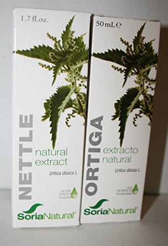 Soria Natural Extracto Ortiga Verde Glicolico - 50 mililitro