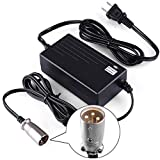 LotFancy 36V 1.5A Battery Charger for Razor MX500, MX650, GT GT750, IZIP I600, I750, I1000, Mongoose M750, X-Treme X-600, Schwinn S600 S750 S1000 ST1000 Stealth X1000, UL Listed