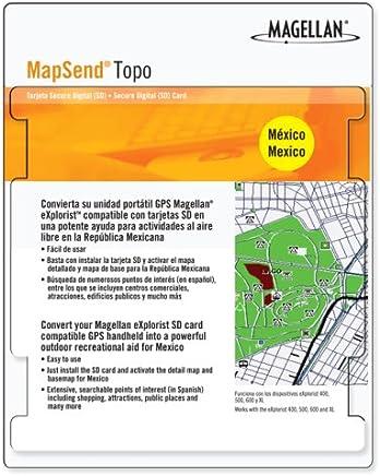 Magellan Mapsend Topo Mexico Map microSD Card