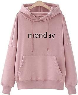 Qiyun Men Women Lovers Loose Large Size Fleece Hooded Sweatshirt