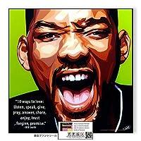 Will Smith/ウィル・スミス/ポップアートパネル/Keetatat Sitthiket キータタット シティケット