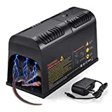 Electronic Mouse Traps, Electric Rat Traps Zapper, Mice Traps Chipmunk Zapper Rodent Rat Mouse Killer Trap for House Indoor Rats Mice and Rodents