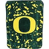 College Covers NCAA Rachel Throw Blanket, 63 in x 86 in, Oregon Ducks