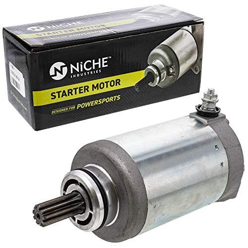 NICHE Starter Motor Assembly 0825-011 for 2008-2017 Arctic Cat 550 600 700 1000 Prowler Thunder Cat Alterra TRV