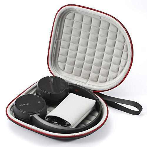 Hard Case für Sony WH-CH500, Sony MDR-ZX330BT Drahtloser Bluetooth-Kopfhörer, Reisetasche zum Aufbewahren von Reisen - Schwarz
