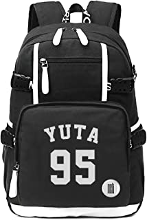 Fanstown Kpop NCT Backpack Canvas Bag NCT U NCT 127 NCT Dream Backpack with pin Button Badge