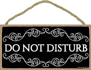 Best wooden do not disturb signs Reviews