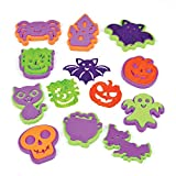 Baker Ross AF703 - Timbri in Schiuma per Halloween, Colori Assortiti