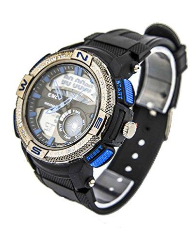 Reloj Eve Mon Crois Deportivo Digital En Azul