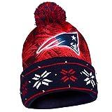 NFL New England Patriots Light Up Knit Hat