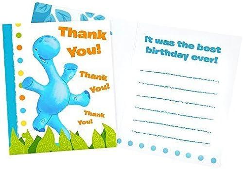 promociones emocionantes Party Destination 236112 Little Dino Thank-You Notes by by by Party Destination  entrega de rayos