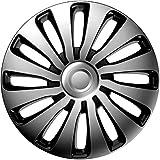 j-tec J15516Sepang Tapacubos, Silver/Black, 15pulgadas