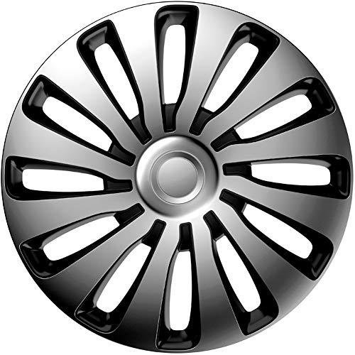 j-tec J16516 Sepang Radkappen, Silver/Black, 16 Zoll