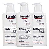 Best Eucerin Baby Creams - Eucerin Baby Wash and Shampoo 13.5 Fluid Ounce Review