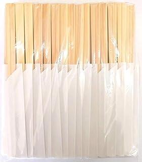 岩井産業 割り箸 日本製 国産 桧 元禄箸21cm 100膳入 箸袋 白無地 業務用
