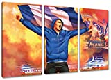 Ultras Duisburg Collage, 3-Teiler Format: 120x80, Bild auf