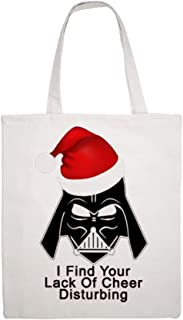 I Find Your Lack Of Cheer Disturbing New double-sided printed single-shoulder Martin canvas high-capacity tote bag