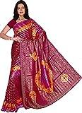 Trendofindia Indian Bollywood Sari Multicolor CA121