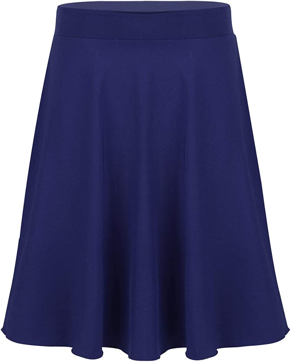 Max 46% OFF Safety and trust JanJean Big Girls Casual Midi A-Line Knee Len Skirt Flared