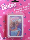 Barbie Playing Cards with Matching Case