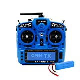 FrSky Taranis X9D Plus 2019 Access 2.4G 24CH Radio Transmitter with 2S Lipo Battery Pack - Blue