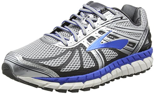 Brooks Men's Beast '16 Running Shoes (9 4E-Extra Wide, Silver/Electric Brooks Blue/Ebony)
