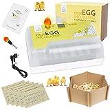 MINICHICK : Couveuse pour œufs de poule avec retournement automatique des œufs. Fabriqué en Espagne. Couveuse pour œufs de canard avec contrôle de la température et de l'humidité.