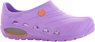 Safety Jogger Lightweight Clog Women - Slip On Clog for Men, Anti-Slip, Anti-Bacterial, Anti-Static and Anti-Fungal, Purpl...