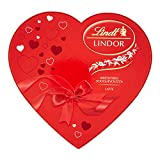 Lindt - Bombones Lindor - Caja con forma de corazón - Ideal como regalo de San...