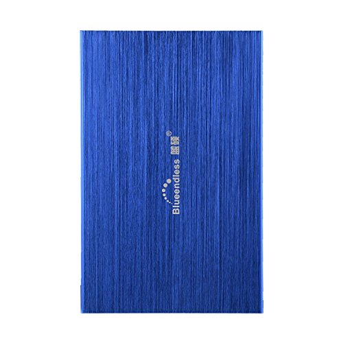 2.5  Blueendless 120gb External Hard Drive Storage Devices Desktop laptop HDD (BLUE)