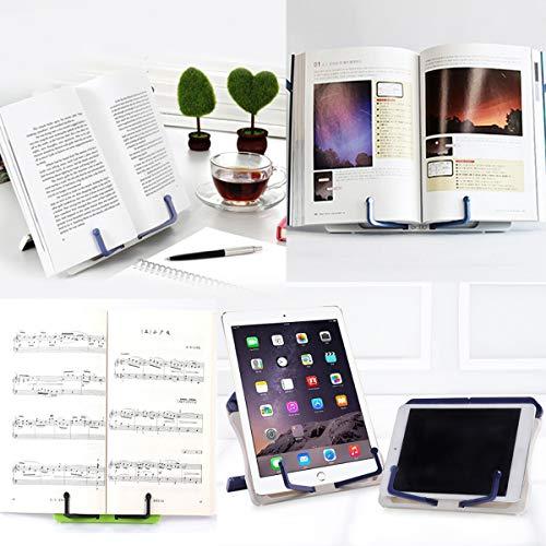 Fotoe20 It Shop Yueser Supporto Per Musica Da Tavolo 3 Pezzi Leggio Musicale Da Tavolo Con Piedi Pieghevole Per Libri Lettura Libri Da Cucina