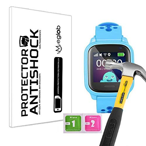 Protector de Pantalla Anti-Shock Anti-Golpe Anti-arañazos Compatible con Leotec Kids Allo GPS