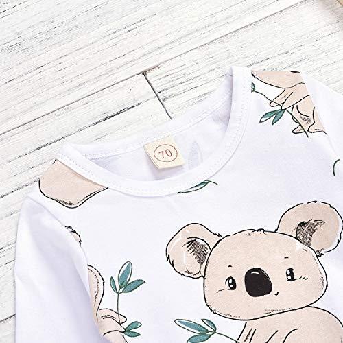 greatmtx Mameluco de Cuello Vuelto para beb/és Mono de Jeans para beb/és reci/én Nacidos