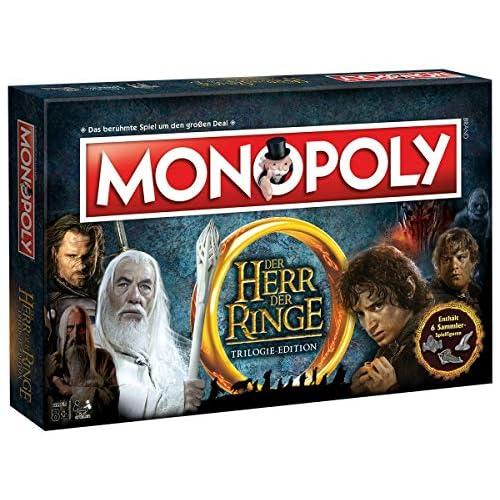 Winning Moves Herr der Ringe Monopoly: Il Signore degli Anelli NEU, Gioco da Tavolo, Colore, Standard, WIN44635