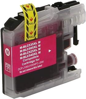 Cartucho de tinta Brother LC505 XXL LC-505M DCP-J100 DCP-J105 MFC-J200 - Magenta - Compatível