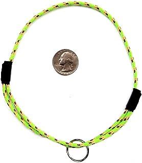 "National Leash Mountain Rope Dog ID Collar- Spring Green- Medium (14""-20"") Ultra Lite"