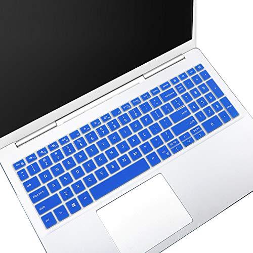 Tastatur-Abdeckung für Dell Inspiron 15 5000 5501 5502 5505 5508 5584 5593 5593 5598, Dell Inspiron 15 7000 7501 7506 75906 759000000000000 75911 Dell Vostro 15 7590 7591 7500 US Tastatur Skin-Blue