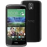 HTC Desire 526G Smartphone (12 cm (4,7 Zoll) Bildschirm, 8GB interner Speicher, Android 4.4 OS) Stealth Schwarz