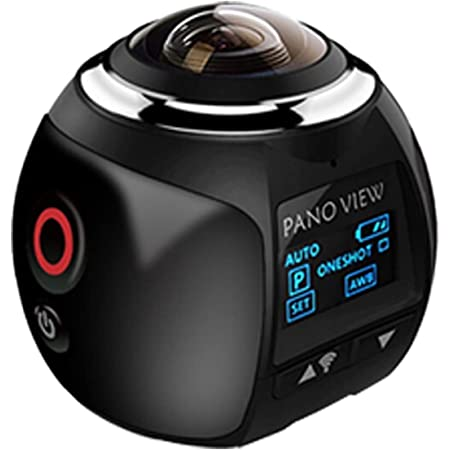 Lysong 360度パノラマカメラ 1600万高画素 220°大広角レンズ搭載 30m防水 水中カメラ APPと接続可能 八種類の撮影モード アクセサリー多数 バイク/自転車/車に取り付け可能 スポーツカメラ HDMI出力 1200mAh大容量バッテリー VRメガネサポート 遠隔操作可能 アクションカメラ 日本語の取扱説明書付属