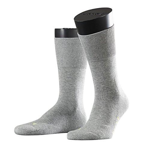 FALKE Sport Spirit Unisex Socken Run 2er Pack, Größe:46/48;Farbe:light grey