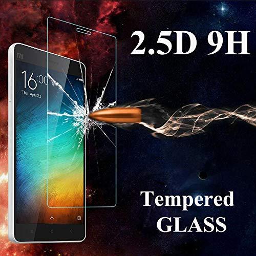 PANGLDT [3 Paquetes] Protector de Pantalla de Vidrio Templado para Xiaomi Redmi 4A Pro Mi4 4C 2s 4S MI3 Mi5 Funda de Vidrio Templado Cubierta de película Protectora para Xiaomi 4C