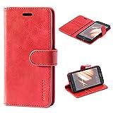 Mulbess Handyhülle für Huawei P10 Lite Hülle Leder,